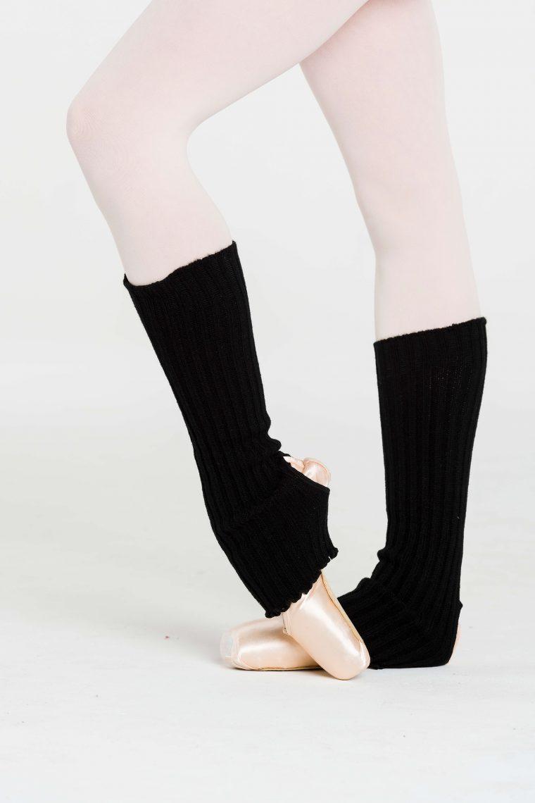 legwarmers black