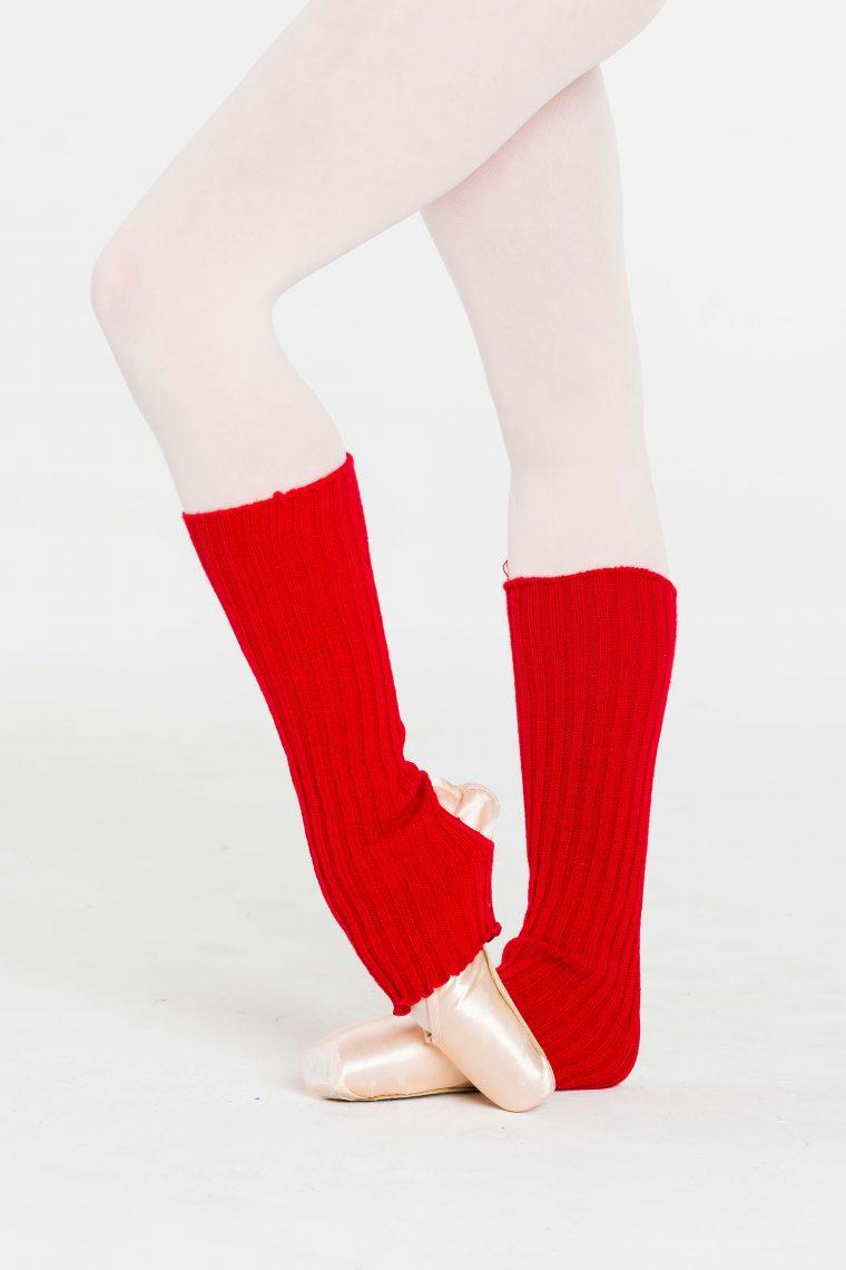 legwarmers red