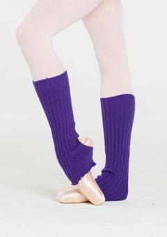 legwarmers dark purple
