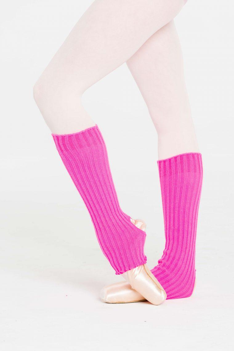 legwarmers hot pink