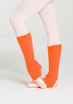 legwarmers orange