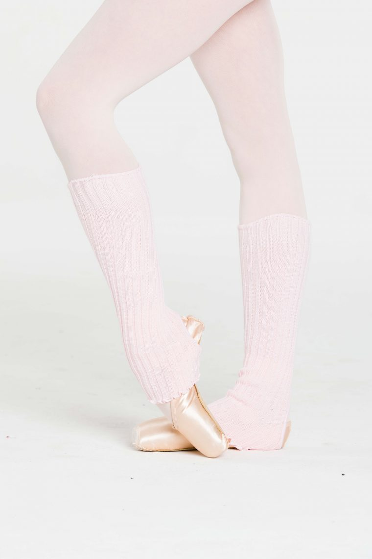 legwarmers pale pink