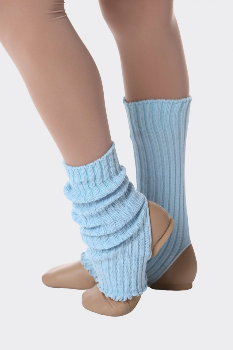 legwarmers small blue