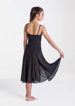 Elemental lyrical dress black