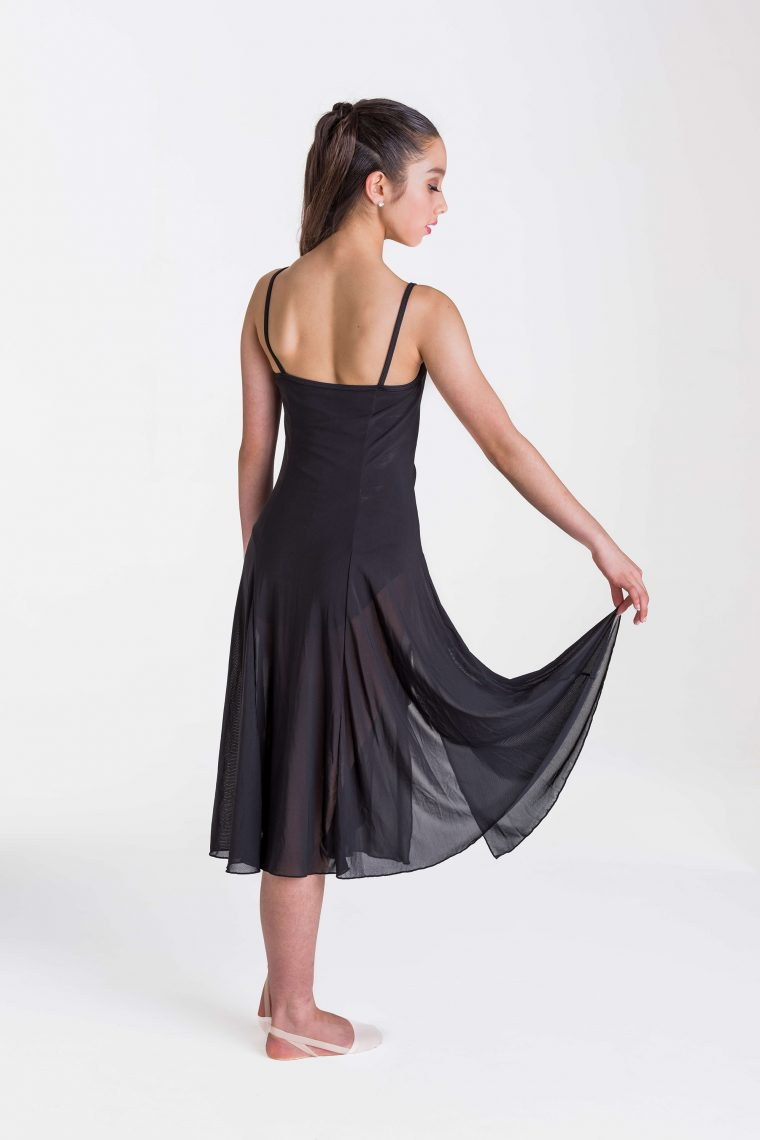 Elemental lyrical dress black