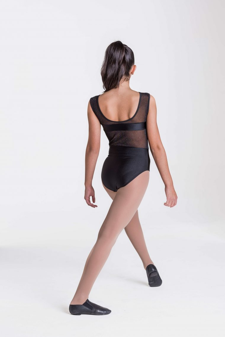 roxanne leotard black