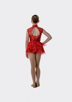 showtime detachable bustle red