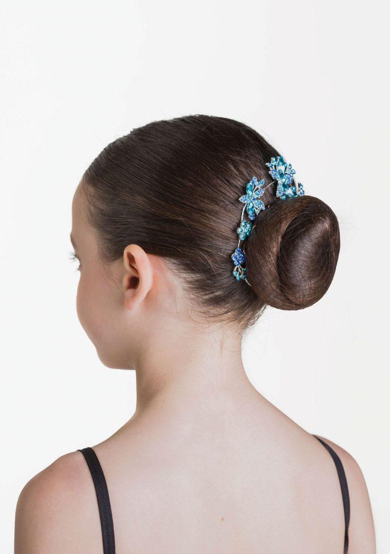 aquamarine hairpiece