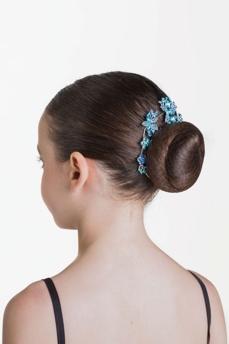 aquamarine hairpiece