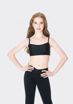 camisole crop top black
