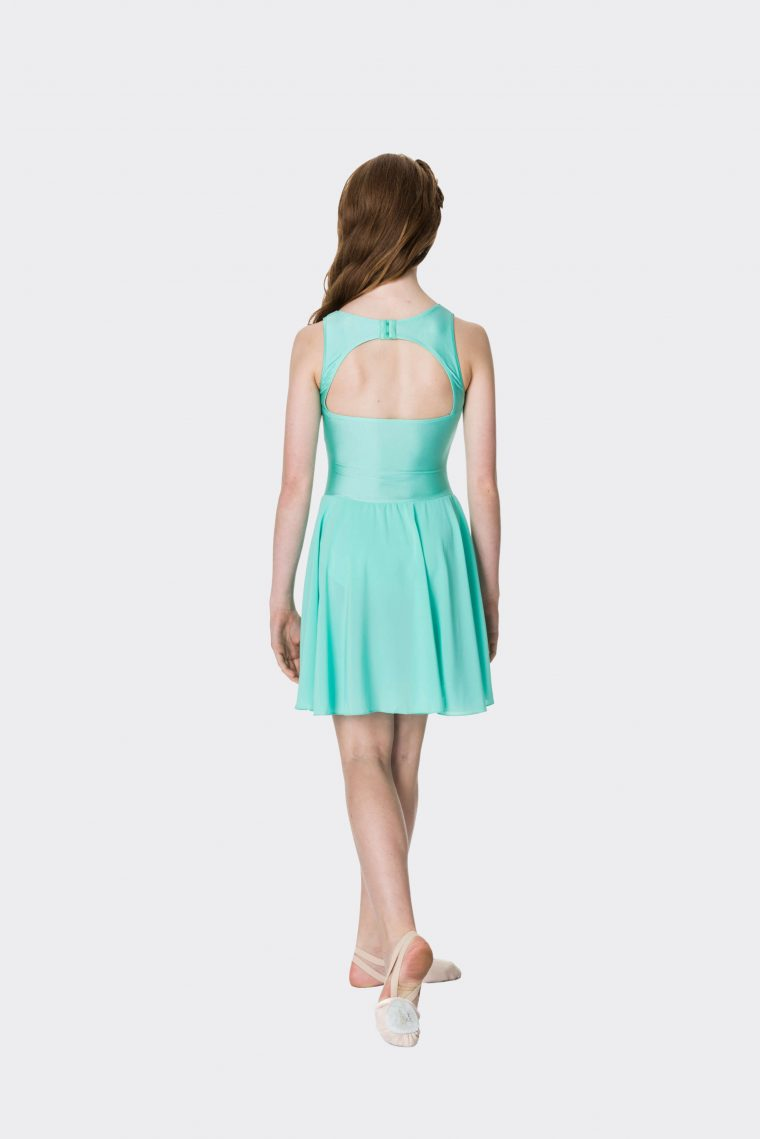 Mesh lyrical dress Mint
