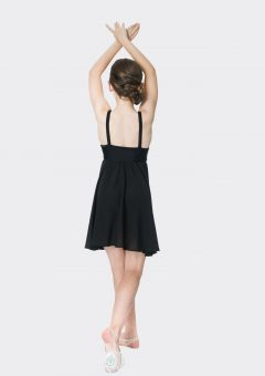 Sequin lyrical dress Black