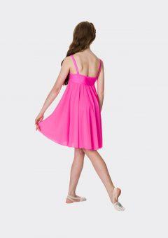 Sequin lyrical dress Hot pink