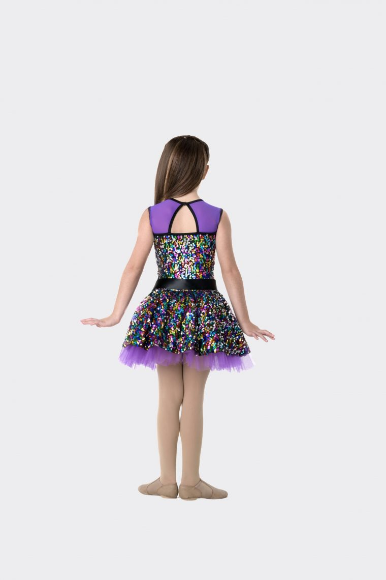 Party princess dress purple