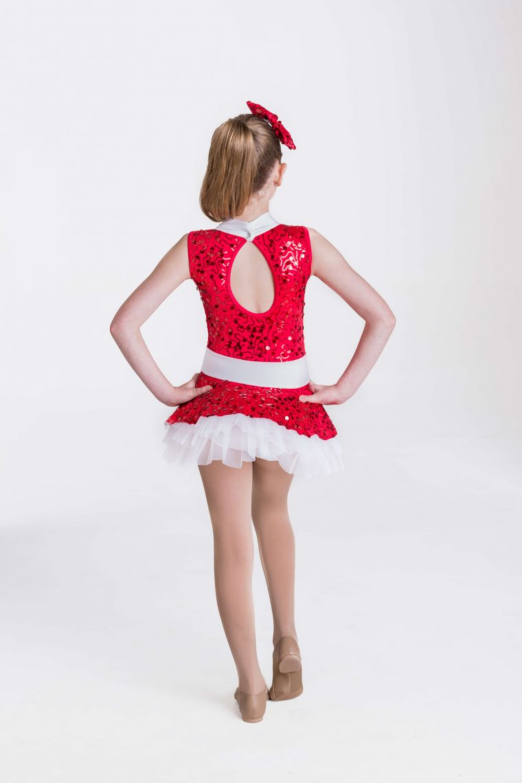 So much cheer dress Red