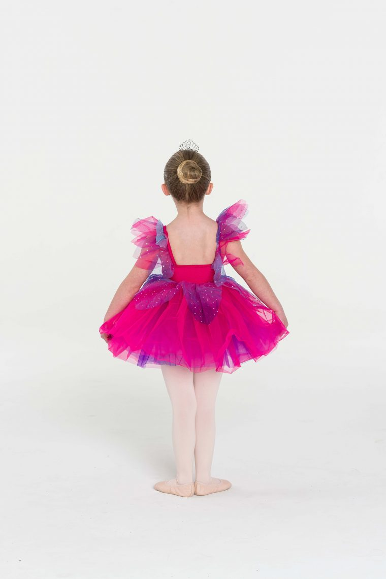 Fairy doll tutu dress Fuchsia