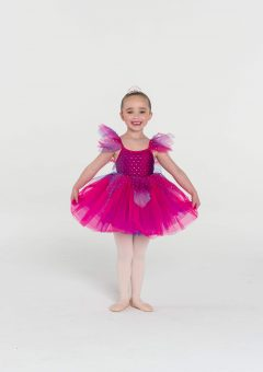Fairy doll tutu dress Fuchsia