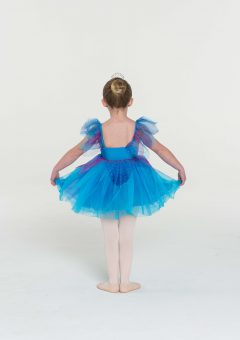 Fairy doll tutu dress turquoise