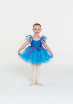 Fairy doll tutu dress turquoise