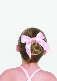 Sherbet fizz tutu hair bow candy pink
