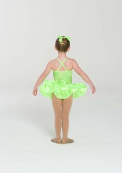 Sherbet fizz tutu dress lime