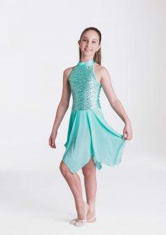 Pastel essence dress mint