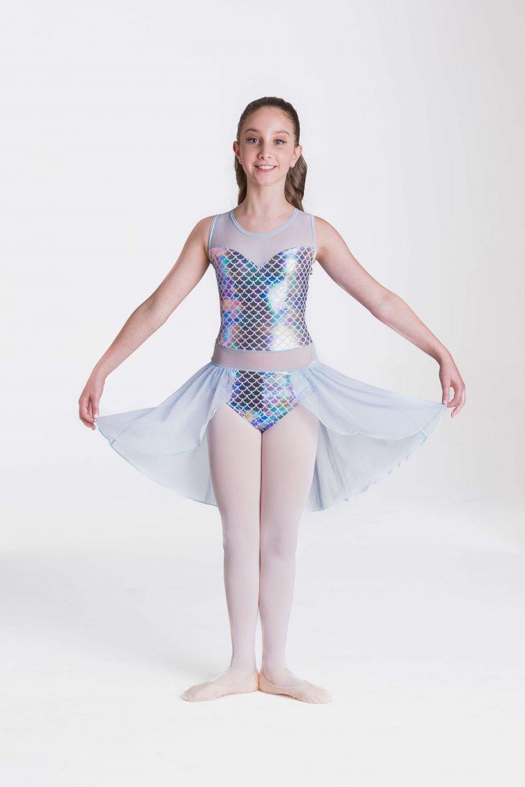 Mermaid dreams lyrical dress multicolour