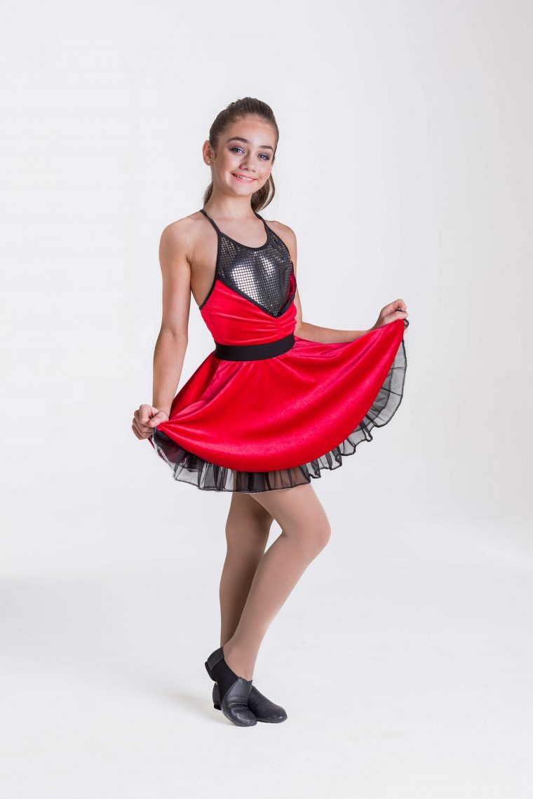 Rock & Roll dress red