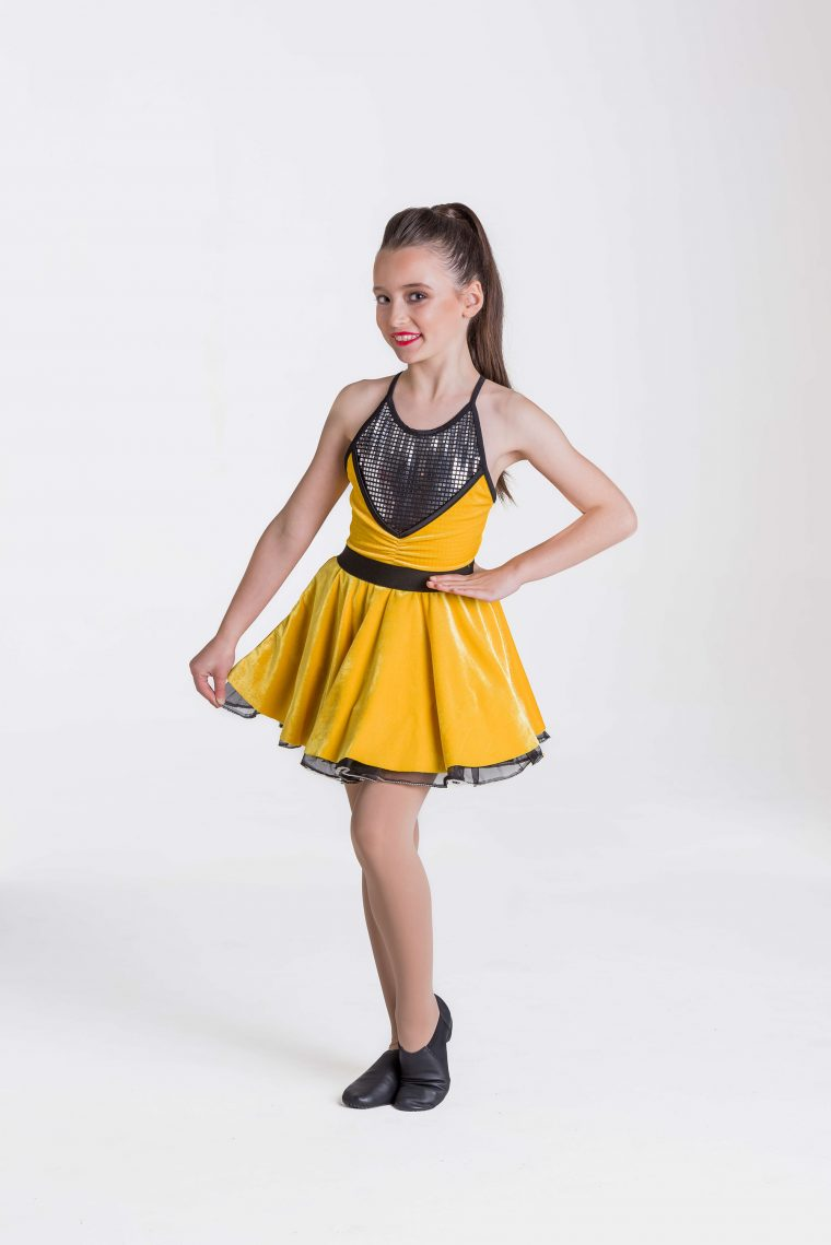 Rock & Roll dress yellow
