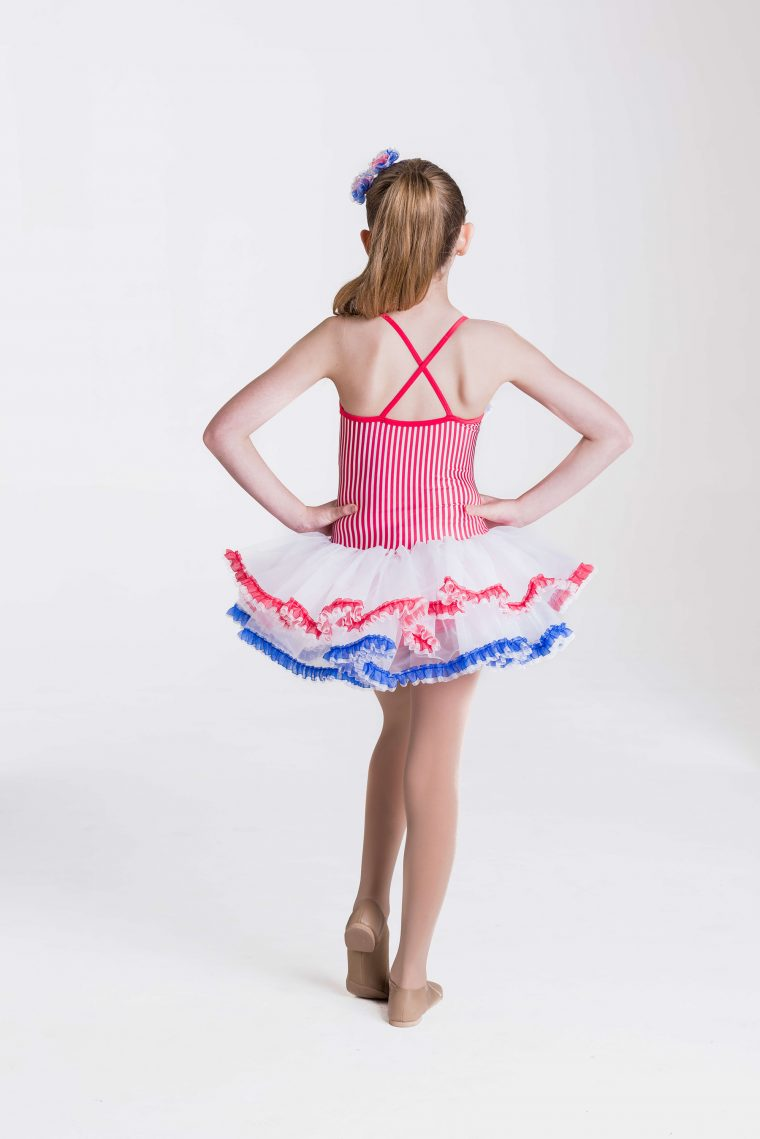 Candy girl dress red