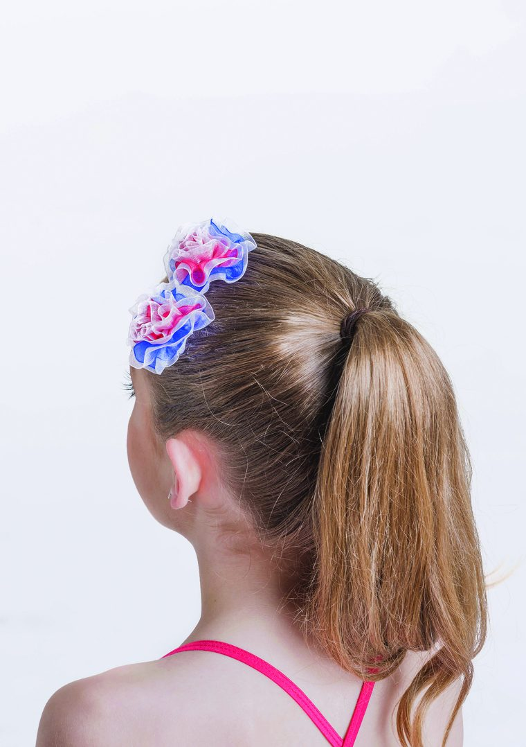 Candy girl hair piece red