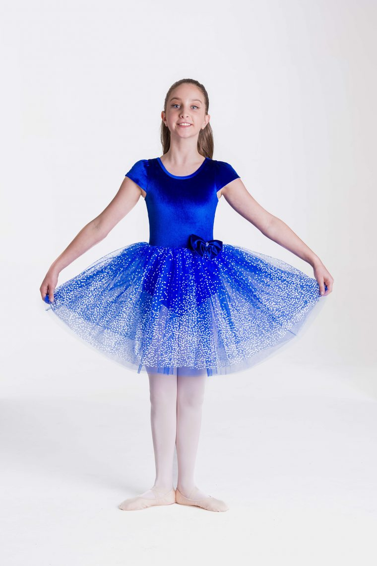 Imperial dress royal blue