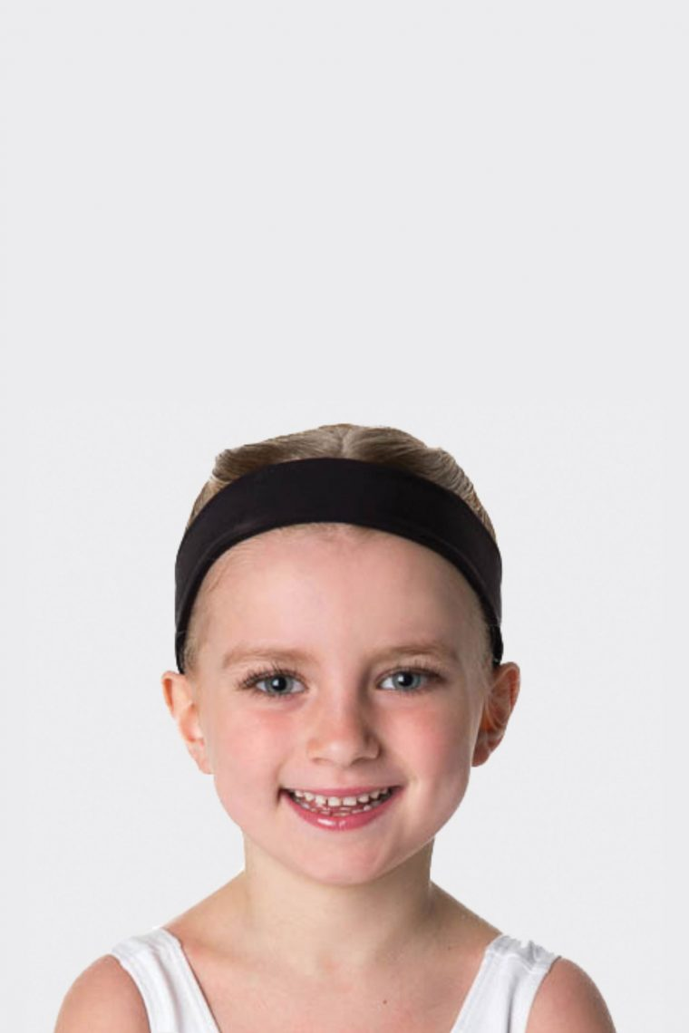 cotton headband black