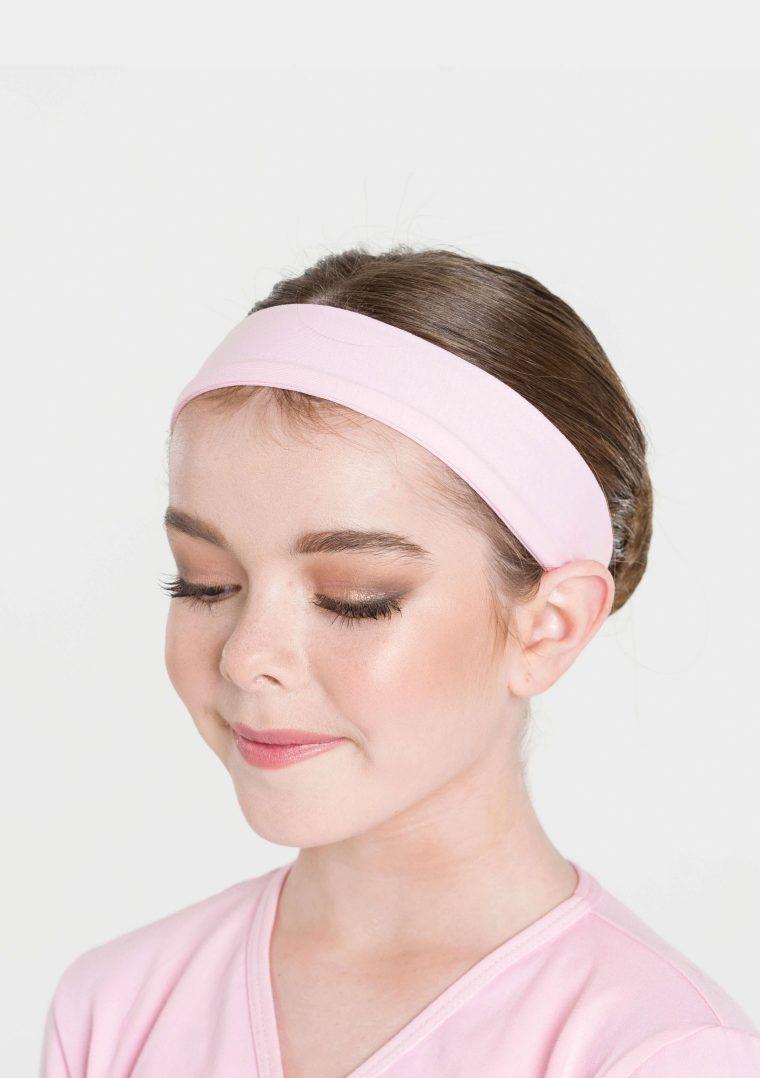 classic headband pale pink