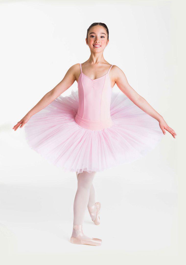 half tutu ballet pink