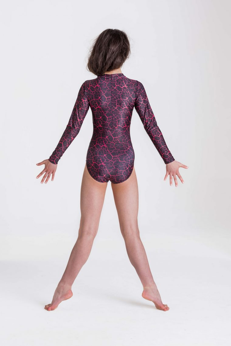 storm leotard red