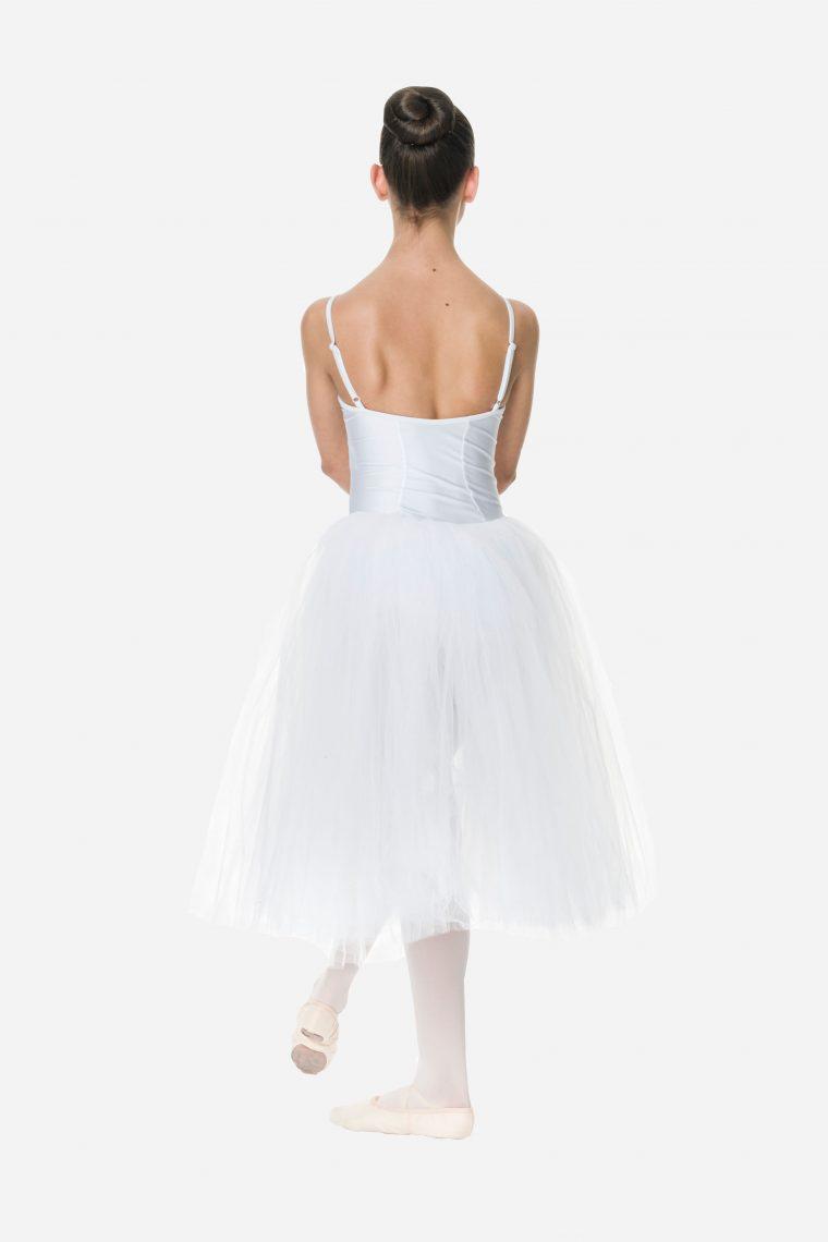 romantic tutu white