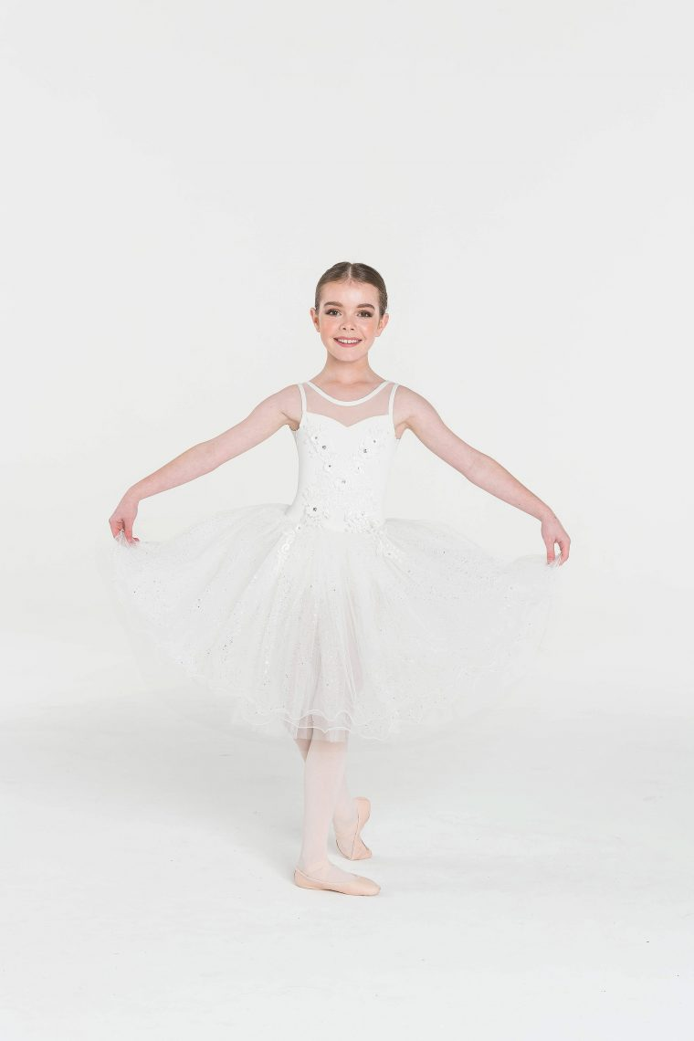 classical dream tutu white