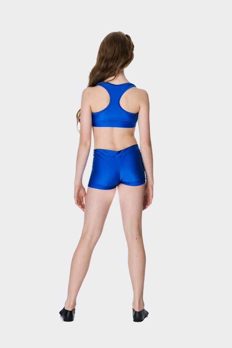 Nylon hot shorts Royal Blue
