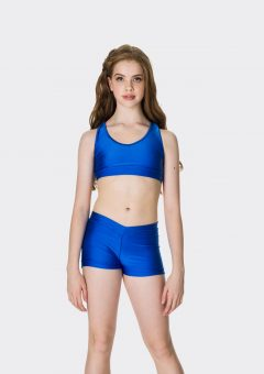 Nylon hot shorts Royal Blue