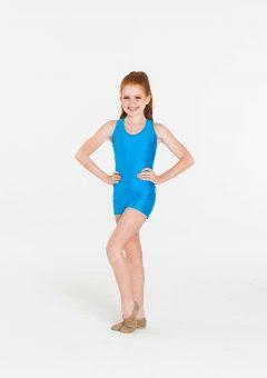 Nylon hot shorts Turquoise