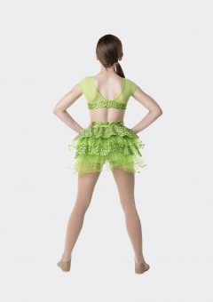 stepping out detachable bustle lime