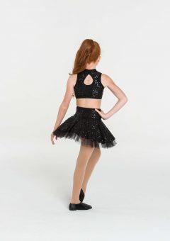 skater skirt black