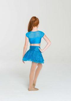 skater skirt turquoise