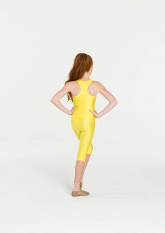 t-back singlet top yellow