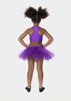 tutu skirt purple