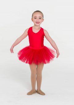 tutu skirt red