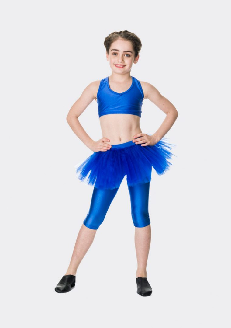 tutu skirt royal blue