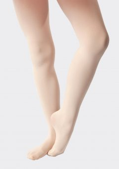 footed tights theatrical pink