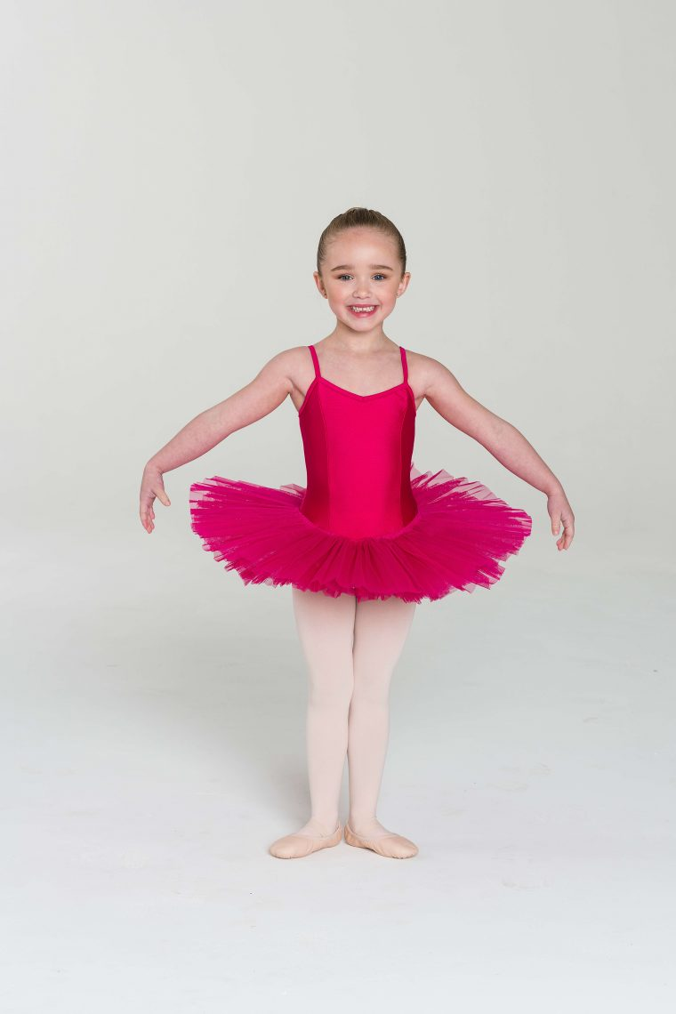4 layer tutu fuchsia